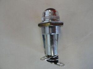 STEWART WARNER 420125-F RED 12 V LAMP WARNING SIGNAL LIGHT MARINE BOAT