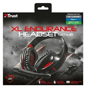 Trust GXT 330 XL Endurance Headset for PS4, Xbox One, PC'S & Laptop - NEW