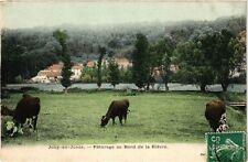 CPA  Jouy-en-Josas -Páturage au Bord de la Biévre (246764)
