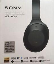 Sony MDR-1000X Kabellose Kopfhörer Mit Geräuschminimierung Schwarz NEU OVP