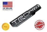 For Toyota Tundra 4 Runner Tacoma TRD PRO Chrome Side Fender Door Badge Emblem
