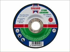 Faithfull - Grinding Disc for Stone Depressed Centre 115 x 6 x 22mm