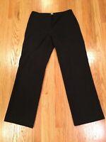 J. CREW Favorite Fit Dress Pants Women's Sz 8 Gray Stretch Wool Trousers 32x32
