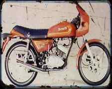 Benelli 125 Sport 81 A4 Metal Sign Motorbike Vintage Aged