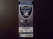 Football Pittsburgh Steelers Vintage Sports Ticket Stubs