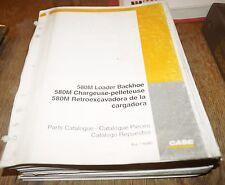 CASE 580M Loader Backhoe 580M Parts Catalog Manual Book