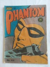 Australian Frew Phantom Comic No. 616 Fair cond Published 1977 Bagged & Boarded