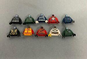 LEGO 10 x Minifigure Torso, Bodies Different Colours Free P&P (Ref1)