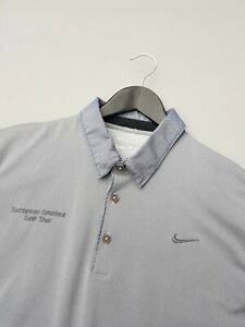 NIKE EAGT GOLF POLO SHIRT SIZE LARGE EXCELLENT CONDITION!