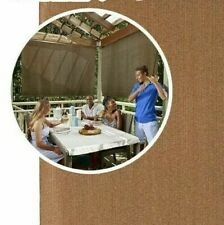 Waterproof Patio Deck Hot Tub Privacy Screen Outdoor Cordless Shade 72 W x 96 H