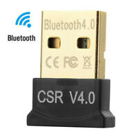 4.0 USB Bluetooth Audio Adapter Receiver for Laptop Windows 8/10 Mac Linux