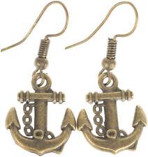 Edle AYSE Vintage Sailor ANCHOR Ohrringe OHRHÄNGER Rockabilly