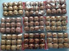 26 WOODEN MIXED SIZE & SHAPE WOOD BEADS For Hair