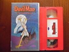 Go Nagai - Devil man 2 - L'arpia Silen - VHS ed. Dynamic rara