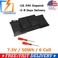 """New 50Wh Battery for Apple MacBook Air 13"""" A1466 Mid 2012 2013 Early 2014 2015"""