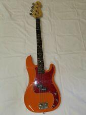Basso Elettrico Precision Bass Orange 4 Corde Tastiera in palissandro