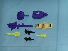 original G1 Transformers DEVASTATOR PARTS WEAPONS LOT #136 r arm fist hip shield
