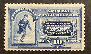 TDStamps: US Special Delivery Stamps Scott#E2 Mint HR OG
