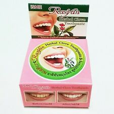 25g ISME Herb Rasyan Fresh Whitening Teeth Antibacterial Herbal Clove Toothpaste