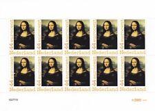 Vel persoonlijke postzegels Mona Lisa 2009 postfris - NVPH 2636 TNT logo