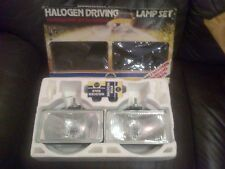 RARE ORIGINAL 1970'S RING SPOT LIGHTS DRIVING LIGHTS RALLY STYLE FORD ESCORT ETc