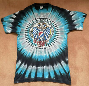 Grateful Dead 1990 t shirt Mens Size   L  Fruit Of The Loom  Made In USA