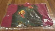 Supreme Jean Paul Gaultier Floral Print Hooded Sweatshirt Sz Large Cardinal SS19