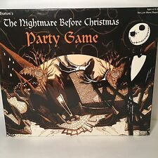 Tim Burton's The Nightmare Before Christmas Party Board Game Opened Sealed Parts