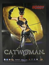 2004 HC CATWOMAN + SPIDER-MAN 2 THE GAME double-sided Spanish poster