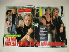 Sabrina Salerno Neumann cuttings clippings Finland Finnish