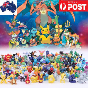 Kids Gift 24-144PCS Pokemon Go Action Figurine Decoration Cake Topper Figure Toy