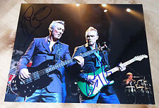 GARY and MARTIN KEMP DOUBLE SIGNED Glossy 10x8 Photo SPANDAU BALLET