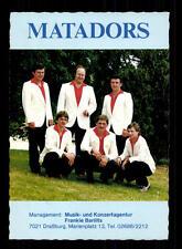 Matadors Autogrammkarte  ## BC 96266 OU
