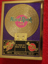 HRC Hard Rock Cafe Honolulu Gold Record Series 2001 LE500