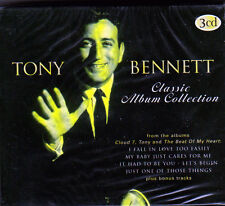 TONY BENNETT - CLASSIC ALBUM COLLECTION (NEW 3CD BOX)