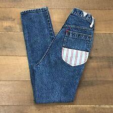 TRAFFIC Vintage 80's/90's Hip Hop Jeans High Waist Great Look Women's Size 11/12