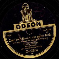 HARRY STEIER  Zwei rote Rosen und ein zarter Kuss / Du und ich, ich und du S7087