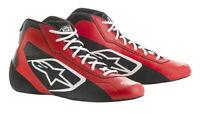 ALPINESTARS Tech 1K Start 18 Kartschuhe Kart Schuhe Rot/Schwarz Größe: 44
