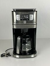 Cuisinart - Burr Grind & Brew 12-Cup Coffee Maker - Black/Stainless