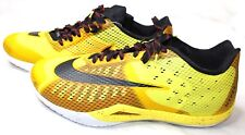 Nike Hyperlive PROMO EYBL Basketball Low Shoe Yellow RARE 849308-706 Size 18