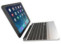 ZAGG Slim Book Case, Detachable Backlit Keyboard for iPad  iPad mini 2/3