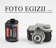 "SUBMINIATURE MINIATURE "" CRYSTAR "" MINI FOTOCAMERA ANNI 50/60 Made Japan COLLEZ."