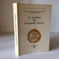 Fonti Metodi Di Storia La Savoia Pratica Delle Documenti Antichi Archivio