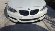 P Front Bumper Performance Valance Chin Spoiler Spliter Lip  For BMW F22 F23