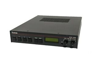 Extron DVS 304 Four Input RGB Composite S-Video Component Analog Video Scaler