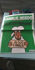 """CHARLIE HEBDO """"Tout est pardonné"""" n° 1178 du 14/01/2015 NEUF jamais ouvert"""