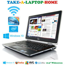"Dell Latitude Fast Laptop Intel Core i5 3.2GHz Windows10 Pro Light Gaming 12.5"""