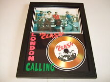 THE CLASH   SIGNED  GOLD CD  DISC 43