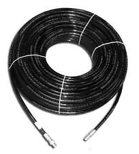 """SUTTNER SEWER PIPE CLEANING HOSE 1/4"""" x 100' 4350 PSI 212°F"""