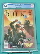 DUNE the movie adaptation Marvel COMIC Super Special #36 cgc 9.0 newsstand vf nm